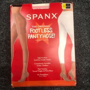 SPANX The Original Footless Pantyhose Size B Black